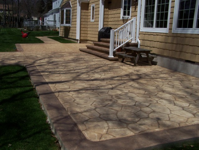 Stamped Concrete Patio : Nj stamped concrete